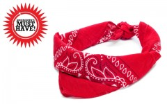 Guess what? Your new scarf this season is a bandana