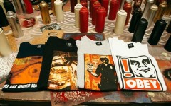 Above: Selections from OBEY's 25th Anniversary Collection