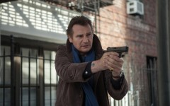 Above: Liam Neeson stars in 'A Walk Among the Tombstones'