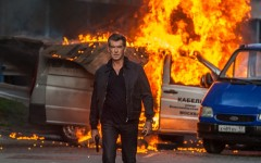 Above: Pierce Brosnan returns to the spy thriller game with 'The November Man'