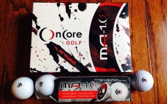 Above: OnCore Golf's MA 1.0 Golf Balls