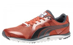 Above: Puma Golf's new Faas Lite Mesh 2.0, a comfortable performance sneaker disguised as a golf shoe