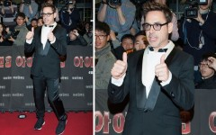 Robert Downey Jr. at the 'Iron Man 3' Seoul premiere (Photo: PR Photos)