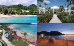 Above: St. Martin is ideal for any couple's romantic getaway