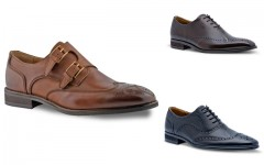 Above: New Insolito Terra shoes help men soar to new heights