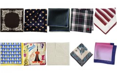 Above: 10 stylish pocket square you can pick up this summer