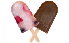 Above: Basil Hayden's Berry American and Spiced Chocolate pop-tails