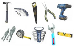 Above: From pliers to cordless drill and bits, you need these tools to complete any basic home repair