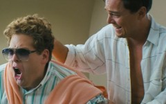 Above: Jonah Hill and Leonardo DiCaprio in The Wolf of Wall Street