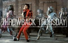 "Above: A still from Michael Jackson's legendary 14-minute video, ""Thriller"""