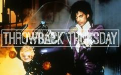 Above: Prince's funkadelic rock opera Purple Rain hit theaters in 1984