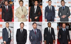 Above: 10 gents who hit the Toronto International Film Festival red carpet