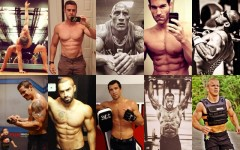 Follow these athletes online to get you motivated to head to the gym