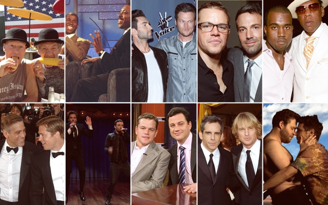 Celebrity Bromances Are In Bloom This Week on Late Night ...