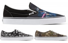 Above: Get your nerd on with the VANS x Star Wars collection