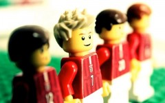 Watch David Beckham's career highlights in Lego