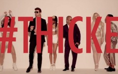 """Robin Thicke and Pharrell's hit single """"Blurred Lines"""""""