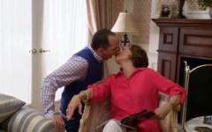 Buster (Tony Hale) and Lucille (Jessica Walter) in a clip from the new Arrested Development (Screencap: YouTube)