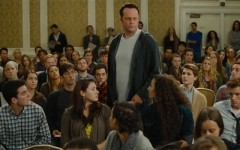 Vince Vaughn surrounded by some of his kids in The Delivery Man (Screen capture: YouTube)