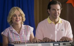 Above: Amy Poehler and Bradley Cooper star in 'Wet Hot American Summer'
