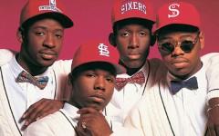 Above: Boyz II Men in the '90s