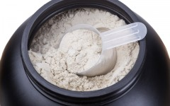 Above: Combining whey with other proteins has its advantages (Photo: Sergio Stakhnyk/Shutterstock)