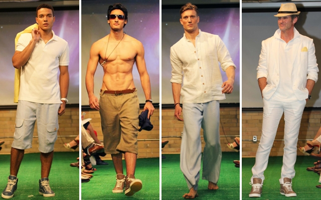 Whitney Linen previews menswear collection in Toronto
