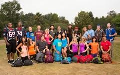 The cast of season 23 of The Amazing Race (Photo: CBS)