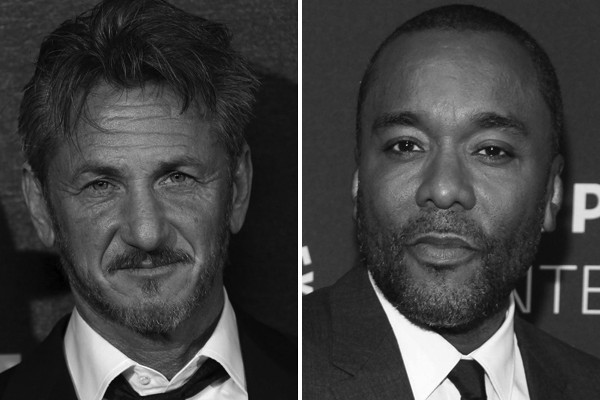 Above: Sean Penn has filed a $10 million defamation lawsuit against 'Empire' co-creator Lee Daniels for implying the Oscar-winning actor abuses women