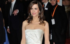 Above: Kristen Wiig on the red carpet