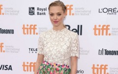 Above: Amanda Seyfried on the red carpet at the Toronto International Film Festival
