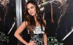 Above: Megan Fox at the premiere of 'Teenage Mutant Ninja Turtles' in New York City