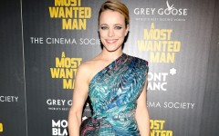 Above: Rachel McAdams at the NYC premiere of 'A Most Wanted Man'