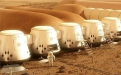 Above: 100 people have been shortlisted for the Mars One mission - a private trip by volunteers to Mars - which is being funded by a TV reality show.