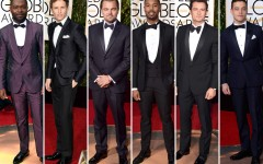 2016 Golden Globe Awards Men On The Red Carpet