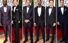 2016 Golden Globe Awards Men On The Red Carpet