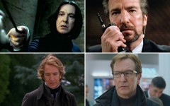 Above: Actor Alan Rickman, known for films including Harry Potter, Die Hard and Robin Hood: Prince of Thieves, has died at the age of 69