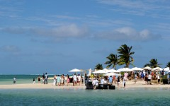 Above: Cayman Cookout, hosted by celebrity chef Eric Ripert