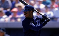 Above: Ken Griffey Jr. has been elected to the Baseball Hall Of Fame
