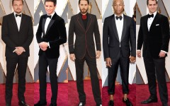 Oscar 2016 Men On The Red Carpet