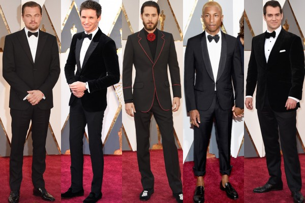 Oscar 2016 Men On The Red Carpet