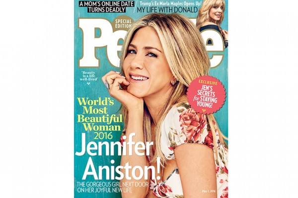 Jennifer Aniston Is People's World's Most Beautiful Woman
