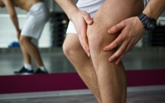 Above: Seeking relief for sore muscles after a hard workout?