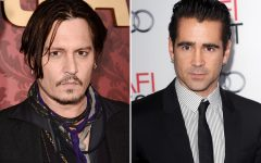 Above: Johnny Depp may get the greater praise, but Farrell has become the superior actor