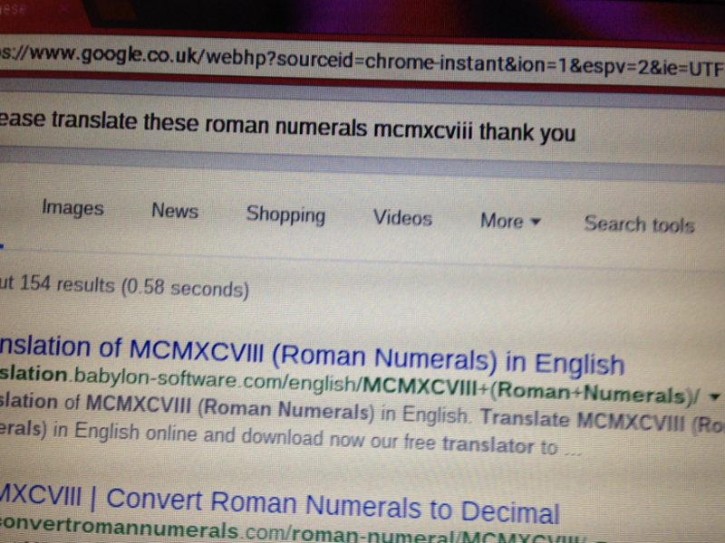 Google Praises 86-Year-Old For Polite Internet Searches