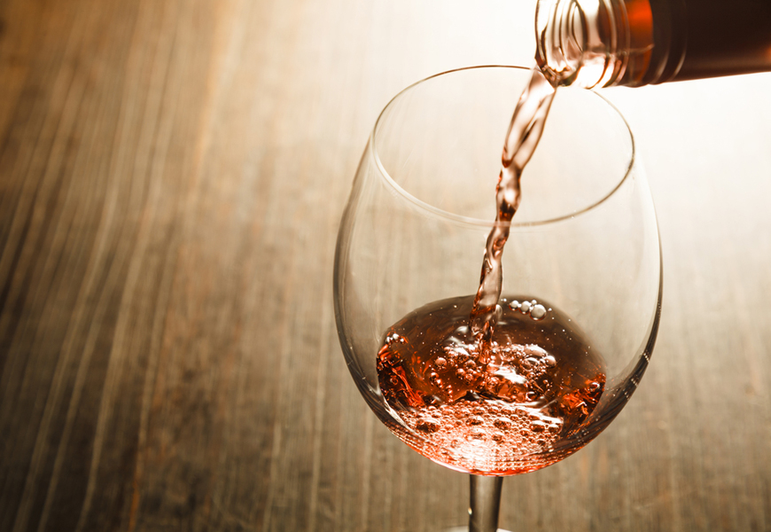 Above: Brosé? Here are a few of our favourite pink wines that guys can pick up at the local LCBO