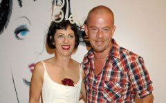 Above: Isabella Blow and Alexander McQueen in 2005