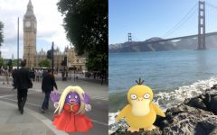 Above: Pokemon are being caught all over the world