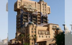 Above: The popular Tower of Terror at at Disney California Adventure Park at the Disneyland Resort will close on January 2, 2017