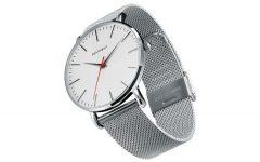 Above: Brathwait's classic slim watch